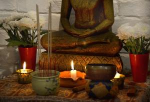 Budhista oltár