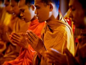 Budhistaszerzetesektea