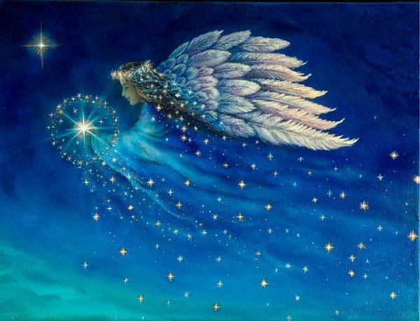 angyalfények